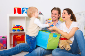 Erhält eine glückliche Familie einen Ratenkredit?