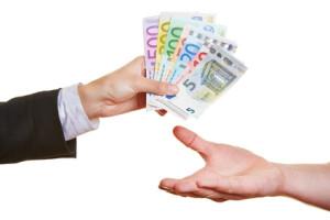 Übergabe Privatkredit
